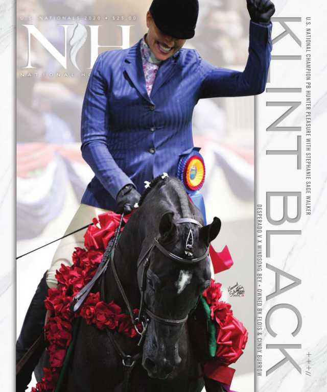 Cover of v5-5-2020 National Horseman Arabian Magazine