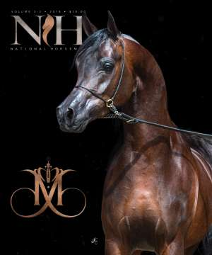 Cover of NHA v.3:2 2018 National Horseman Arabian Advertiser Gallery