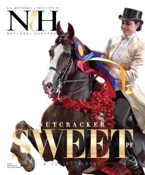 Cover of NHA v.3:5 2018 National Horseman Arabian Advertiser Gallery