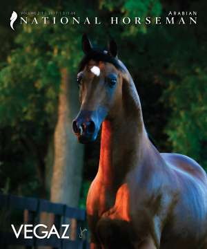 Cover of NHA v.2:5 2017 National Horseman Arabian Advertiser Gallery