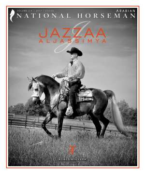 Cover of NHA v.2:4 2017 National Horseman Arabian Advertiser Gallery