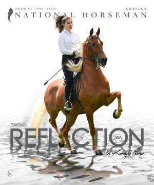 Cover of NHA v.1:3 2016 National Horseman Arabian Advertiser Gallery