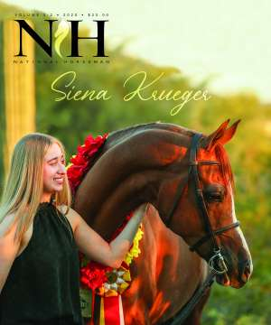 Cover of NHA v.5:2 2020 National Horseman Arabian Advertiser Gallery